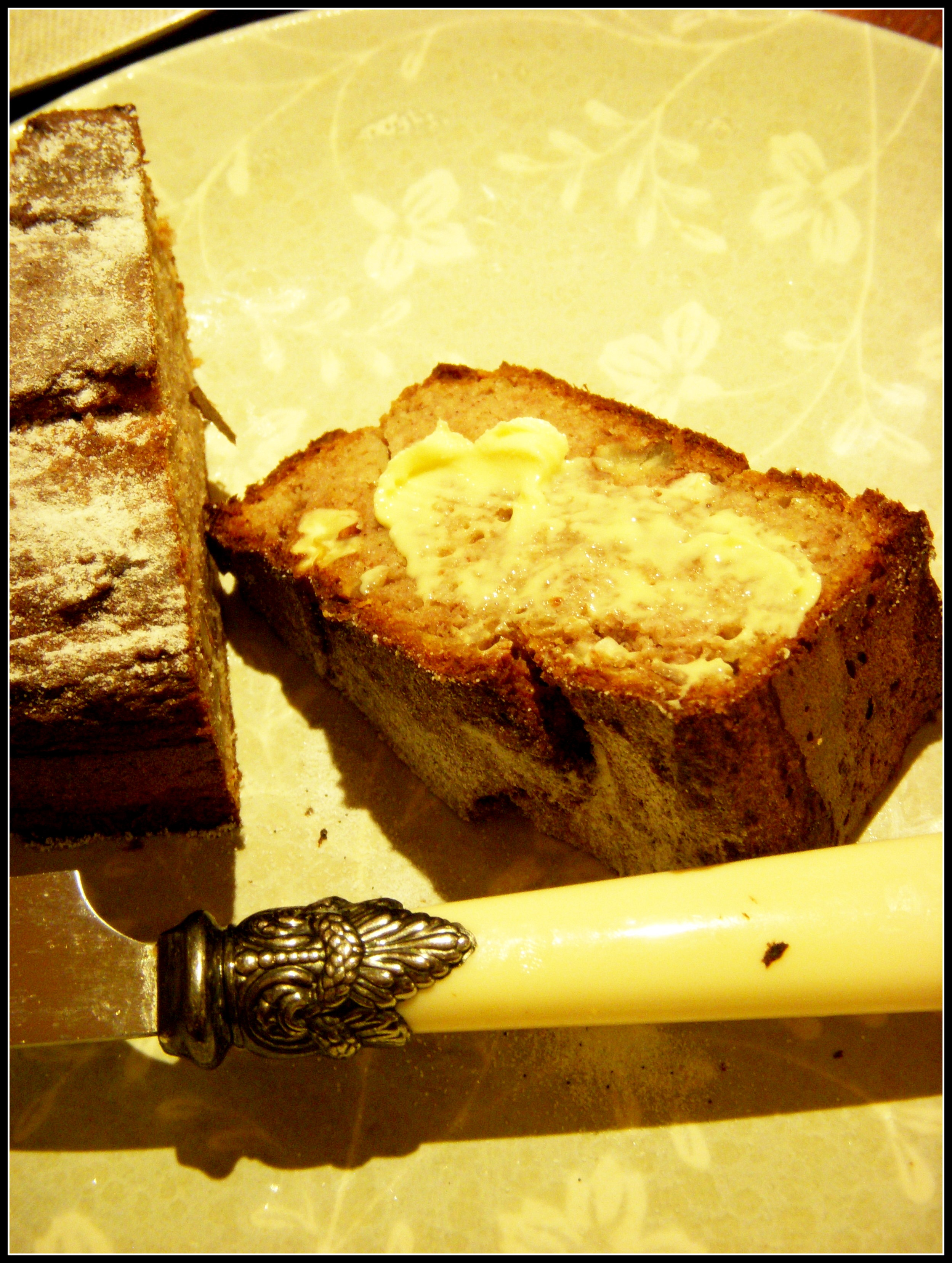 Banana Cake With Canderel