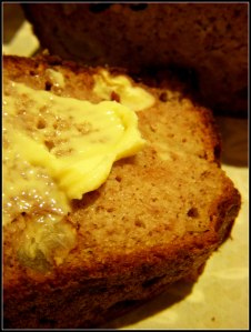 Apple & banana bread